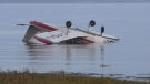 2 people unhurt after island plane crash