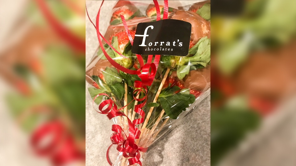 Forrat's chocolate bouquet
