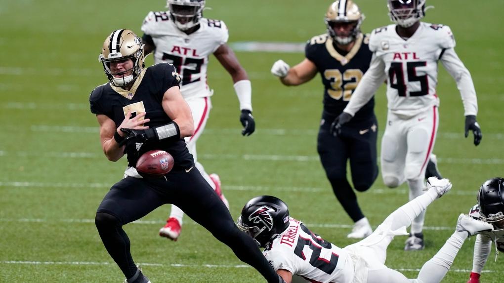 New Orleans Saints quarterback Taysom Hill