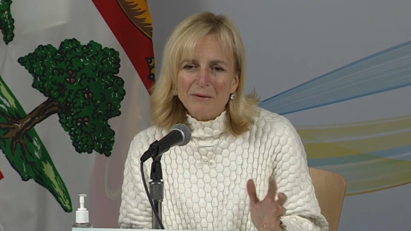 """I am pleased that there are no new cases to report today,"" said P.E.I.'s chief medical officer of health, Dr. Heather Morrison, during a press conference on Sunday, followed by an update involving two previously announced cases."