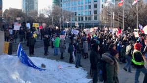 The Calgary Police Service says it isn't finished with its investigation of an anti-mask rally that far exceeded the 10-person limit on outdoor gatherings set out by the Kenney government.