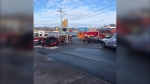 On Sunday, at 9:30 a.m., New Glasgow Regional Police, New Glasgow Fire Department, and Emergency Health Services responded to a three-vehicle collision at the intersection of George Street and Archimedes Street. (Courtesy: New Glasgow Regional Police)