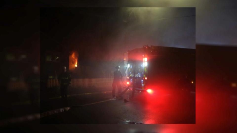 Chambers Street fire