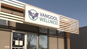 For frontline healthcare workers interested in accessing Vangool's page, they can email info@vangoolwellness.com and a link will be provided. Chad Leroux/CTV Saskatoon