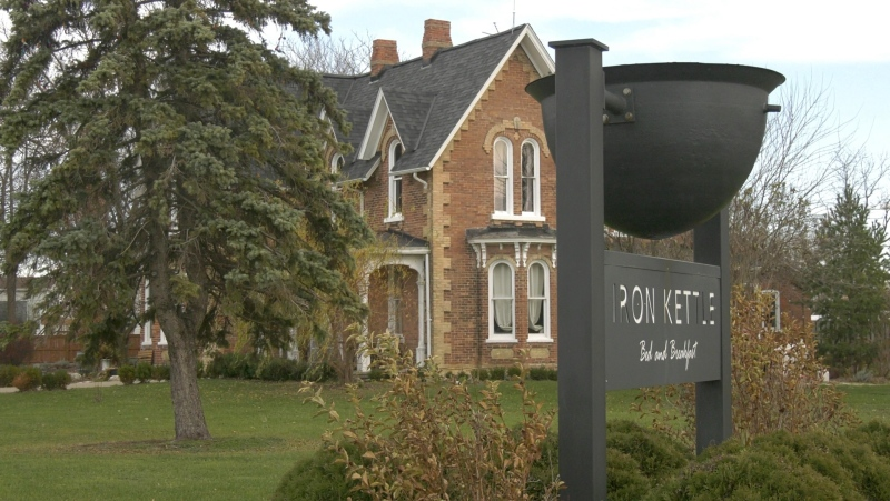 The Iron Kettle Bed and Breakfast in Comber, ON. Sunday, November 29, 2020. (Ricardo Veneza / CTV Windsor).