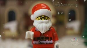 Winnipeg Lego artist's Christmas creation