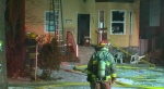 Crews battle house fire on McDermot
