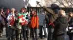 Anti-mask protest in Edmonton
