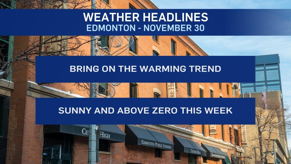 Nov. 30 weather headlines