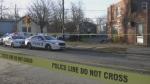 Halifax Regional Police respond after a dead body was found on Nov. 30, 2020.