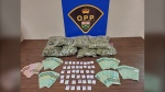 OPP bust northern Ontario senior accused of drug trafficking. (Supplied)