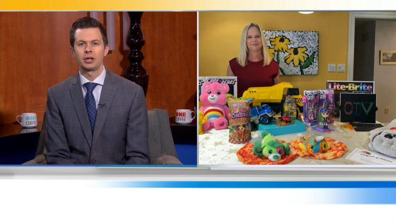 We'll get some gift ideas from the go-to-grandmother and parenting expert Kathy Buckworth. She has ideas to help kids stay off screens
