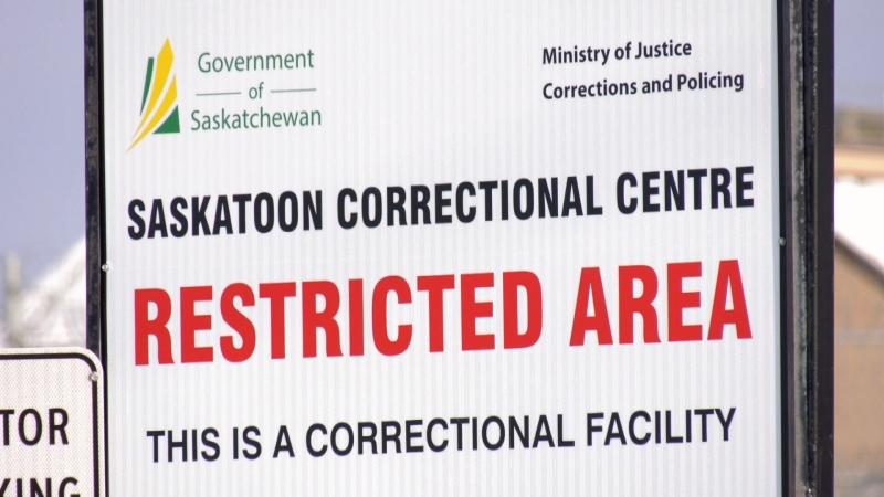 Saskatoon Correctional Centre (winter)