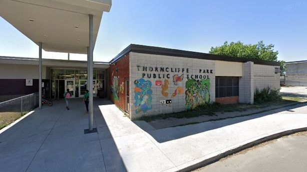 Thorncliffe Park Public School is seen in this undated photo.