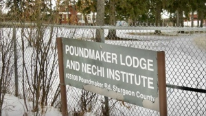 Poundmaker's Lodge Treatment Centres. Nov. 30, 2020. (Sean Amato/CTV News Edmonton)