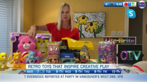 Retro toys that inspire creative play