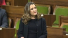 Deputy Prime Minister and Finance Minister Chrystia Freeland delivers her fall economic update, Monday, Nov. 30, 2020.