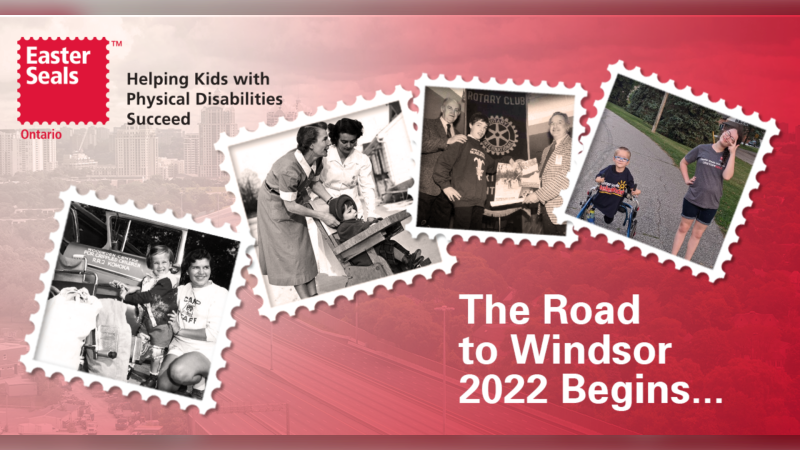 Easter Seals Ontario has selected Windsor as its centennial event host site. (courtesy Easter Seals Ontario)