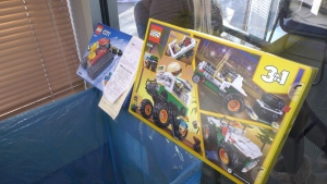 St. Albertans can pay their parking tickets with toys valued at least $25 this holiday season. Nov. 30, 2020. (Jay Rosove/CTV News Edmonton)