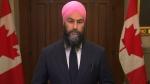 NDP Leader Jagmeet Singh on fiscal update