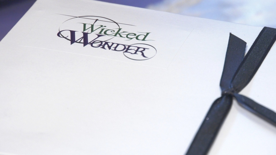 The 'Wicked Wonder Box' is a subscription service offering holistic healing items created by McGregor's Shantelle Rayner to support local businesses in the region. Monday, November 30, 2020. (Ricardo Veneza/CTV Windsor).