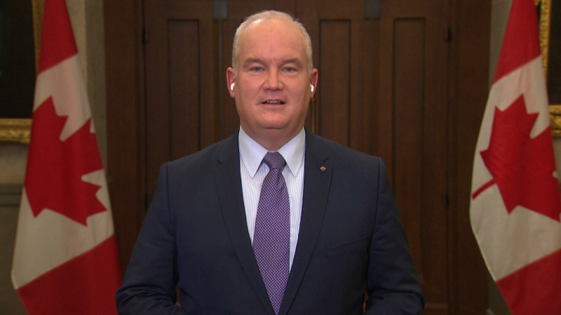 Conservative Leader Erin O'Toole on fiscal update