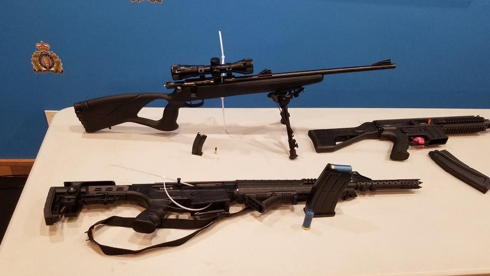 west shore rcmp guns