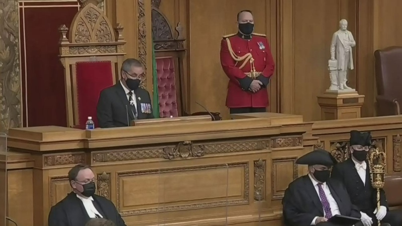 Sask. throne speech focusses on COVID-19