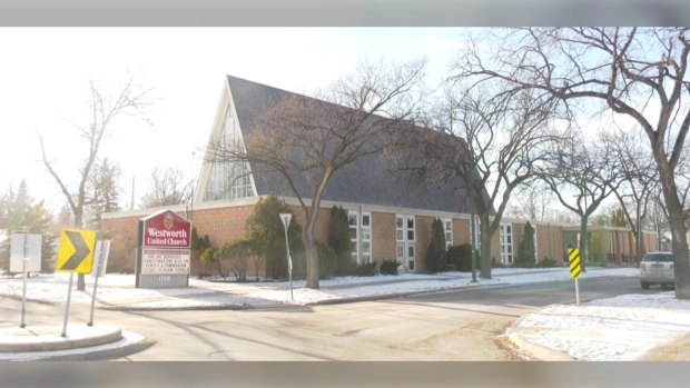 Westworth United Church has been one of the religious institutions that has been following public health orders and has halted in-person services. (Source: Mike Arsenault/CTV News)