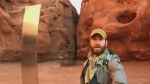 Man drives six hours to find mysterious monolith