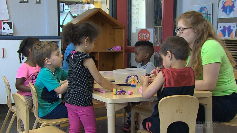 CTV National News: Universal childcare promise