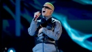 Bad Bunny performs a medley at the Billboard Latin Music Awards in Las Vegas on April 25, 2019. (Photo by Eric Jamison/Invision/AP, File)