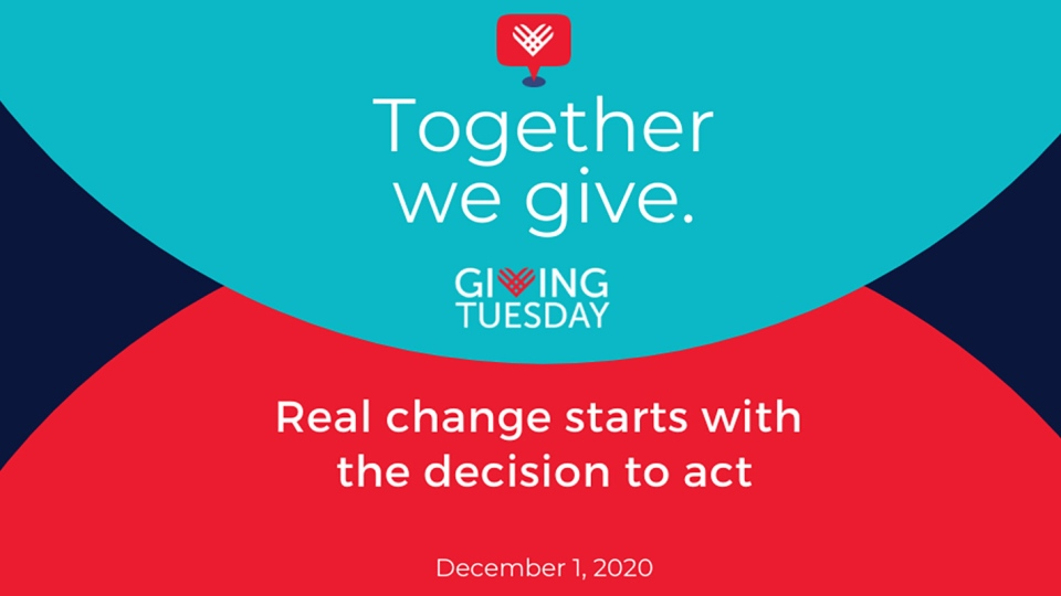 December 1 is Giving Tuesday -- a day dedicated to simply encouraging people to do good around the world by giving their time, talents and treasure. (Courtesy GivingTuesday/CNN)