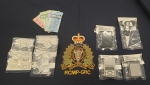 A 36-year-old man from Richibucto, New Brunswick, has been charged with uttering threats following an investigation that also resulted in the seizure of drugs. (Photo via: N.B. RCMP).