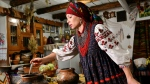 Borscht is art, language and culture, says Shcherban, (AFP)