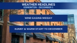 Dec. 1 weather headlines