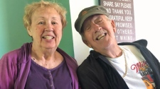 Patricia, 78, and Leslie, 75, McWaters both died from the disease on Nov. 24 at exactly 4:23 p.m. local time, according to an obituary. (WDIV, CNN)