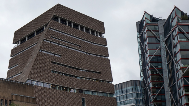 The 10th floor viewing platform at the top of the Tate Modern. The boy who was thrown from the gallery is starting to walk, his family says. (Dan Kitwood/Getty Images)