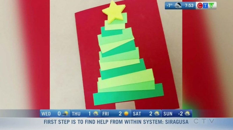 Tots to Teens: Homemade holiday cards