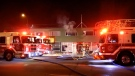A two-alarm fire broke out in an apartment building in Kingsway on Nov. 30, 2020, killing one and sending another to hospital.