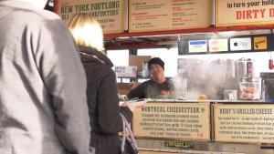 A hot dog vendor in the Fraser Valley is getting ready to donate his kidney to a sick customer on Dec. 14, 2020.