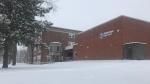 Elizabeth Ziegler Public School seen on Dec. 1, 2020, when the school board had its first virtual snow day. (Dan Lauckner / CTV Kitchener)