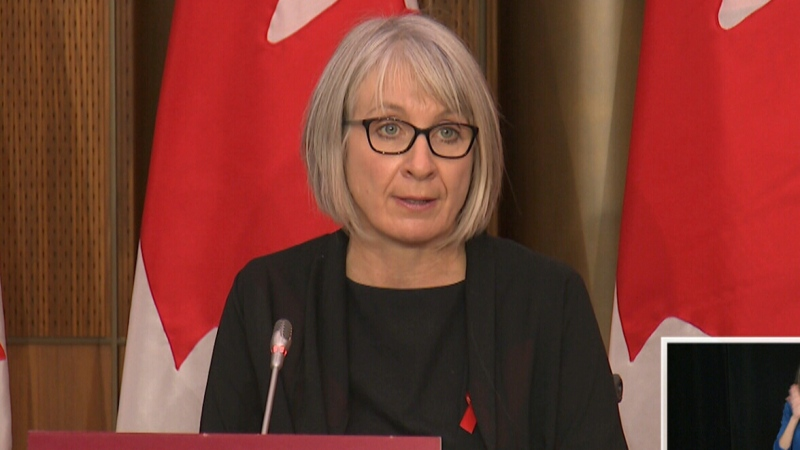 Health Minister Patty Hajdu