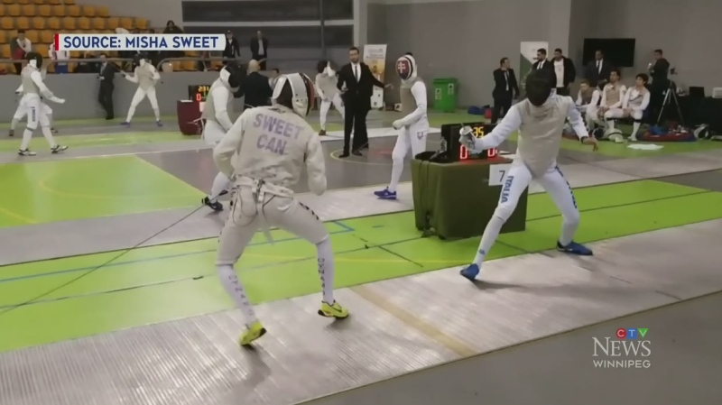 Manitoban recognized for fencing skills