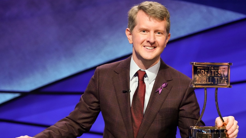 Contestant Ken Jennings will be the first interim guest for the late Alex Trebek, and the show will try other guest hosts before naming a permanent replacement. (Eric McCandless/ABC/AP/CNN)