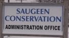 Saugeen Conservation Authority on Dec. 1, 2020. (Scott Miller/CTV London)