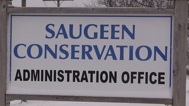 Saugeen Conservation Authority on Dec. 1, 2020. (Scott Miller/CTV London)