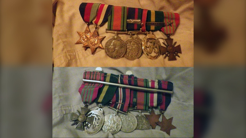Several Second World War medals missing after a Remembrance Day ceremony in the city's N.W. (Calgary Police Service)