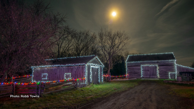 Alight at Night, Upper Canada Village. (Robb Towns/CTV Viewer)