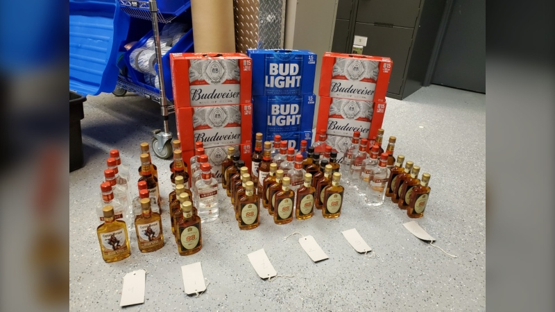 Four people from Thompson, Man. are facing charges after RCMP uncovered an alleged bootlegging operation. (Image source: RCMP)